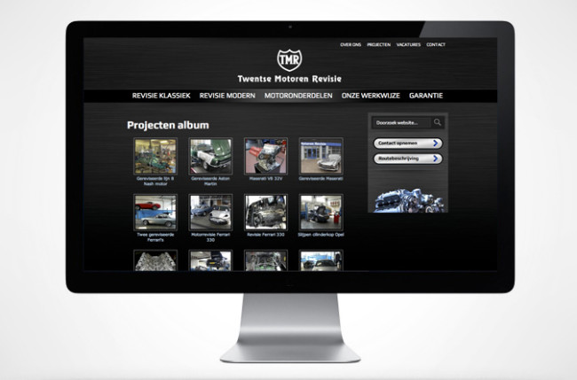 Twentse Motoren Revisie website fotoalbum